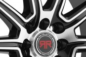 REVOLUTION RACING® - RR03 Black with Machined Face Close-Up
