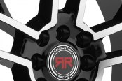 REVOLUTION RACING® - RR05 Black with Machined Face Close-Up
