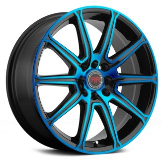 REVOLUTION RACING® - RR03 Black with Blue Face
