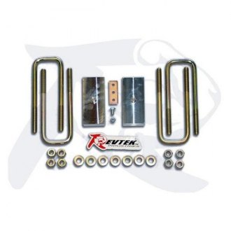 "Revtek® - 1.25"" Rear Lifted Blocks and U-Bolts"