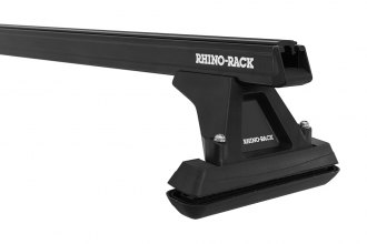 Rhino-Rack® Y04-250B - Heavy Duty Cap Topper Black Fixed Mount Roof Rack (54'')
