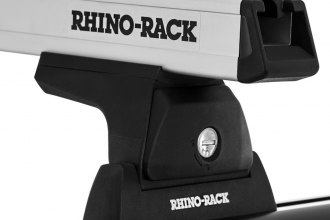 Rhino-Rack® - Heavy Duty Cap Topper Silver Track Mount Roof Rack