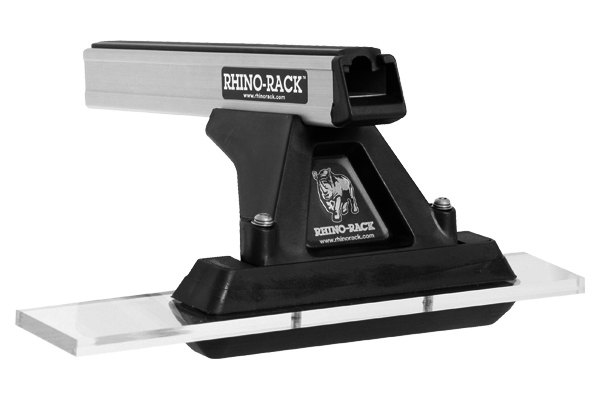 Rhino-Rack® - Heavy Duty Cap Topper Silver Fixed Mount Roof Rack