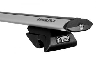 Rhino-Rack® - Sportz Series Aero Rail Mount Roof Rack with Silver Cross Bars