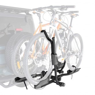 "Rhino-Rack® - Dual Trekker Platform Hitch Mount Bike Rack (2 Bike Fits 1-1/4"" and 2"" Receivers)"