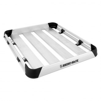 "Rhino-Rack® - Alloy Tray Cargo Basket (47"" L x 39"" W)"
