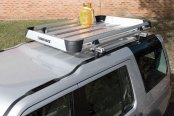 Image may not reflect your exact vehicle! Rhino-Rack® - Alloy Tray Cargo Basket