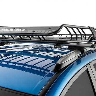 "Rhino-Rack® - Large Roof Mount Cargo Basket (57"" L x 42.9"" W x 5.9"" H)"