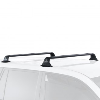 Rhino-Rack® - Vortex RVP Black Roof Rack System (4 Legs with 2 Black Cross Bars)