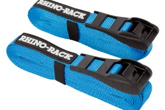 Rhino-Rack® - Blue Tie Down Straps with Buckle Protector