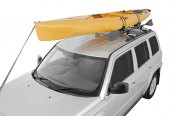 Image may not reflect your exact vehicle! Rhino-Rack® - Explorer Kayak and Canoe Carrier