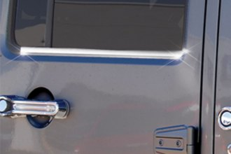 RI® - Chromed Stainless Steel Window Belt Moldings