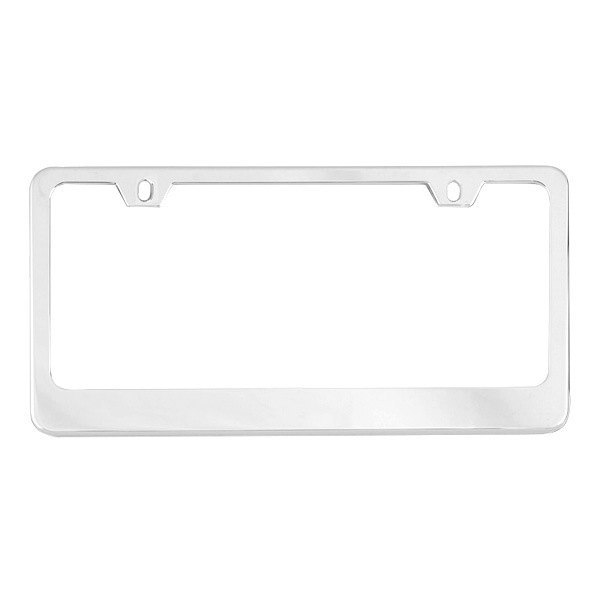 RI® 16-A2602 - 2-Hole Thick Bottom License Plate Frame