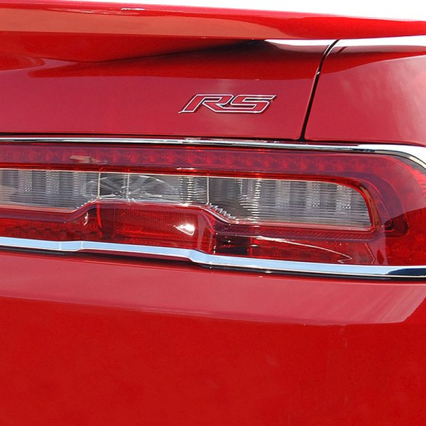 ri 26 chcam14 chevy camaro 2014 chrome tail light bezels. Cars Review. Best American Auto & Cars Review