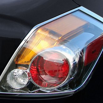 2012 nissan altima chrome tail light bezels covers. Black Bedroom Furniture Sets. Home Design Ideas