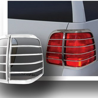 Lincoln Chrome Tail Light Bezels Covers Carid Com