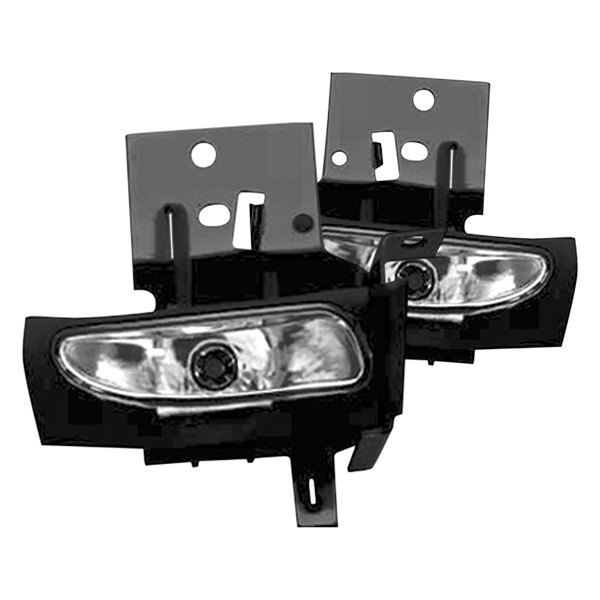 RI® - Factory Style Clear Fog Lights Replacement