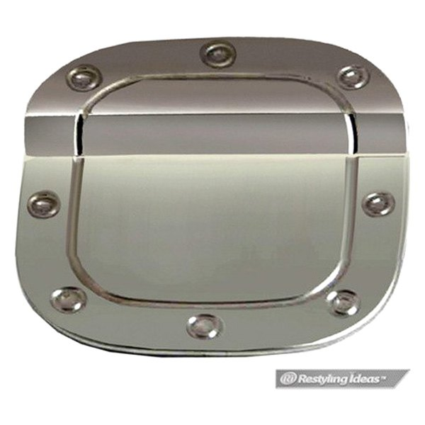 Ri hocrv polished stainless steel gas cap cover