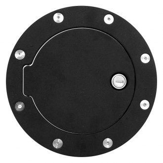 RI® - Black Aluminum Gas Cap Cover