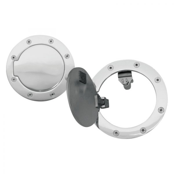 RI® - Chrome Aluminum Gas Cap Cover