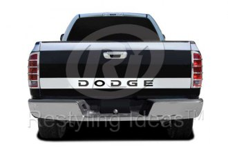 RI® 65SS-DORAM09 - Stainless Steel Tailgate Accent
