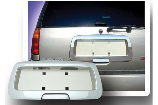 RI® - Rear License Plate Frame with Tailgate Handle
