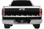 "RI® - 63.5"" Universal SS Flame Design Tailgate Accent"