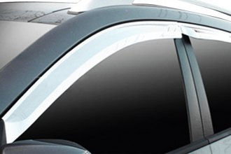 RI® - Chrome ABS Window Visor
