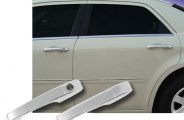RI® 68-DOMAG054D-1K - Chrome Door Handle Covers (W/O Passenger Side Keyhole))