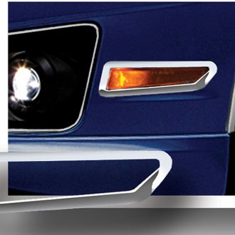 RI® - Polished Front Bumper Side Marker Light Bezels