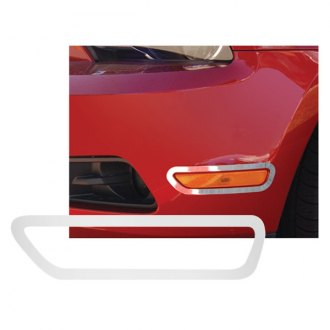 RI® - Stainless Steel Bumper Side Marker Light Bezels