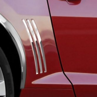RI® - Polished Stainless Steel Quarter Panel Louver Inserts