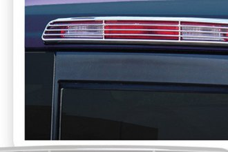 RI® - Grille Style Chrome 3rd Brake Light Bezel