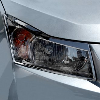 Image may not reflect your exact vehicle! RI® - Polished Stainless Steel Headlight Bezels