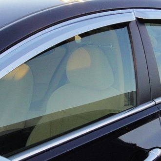 RI® - Tape-On Acrylic Premium Diamond Smoke Front and Rear Window Visors