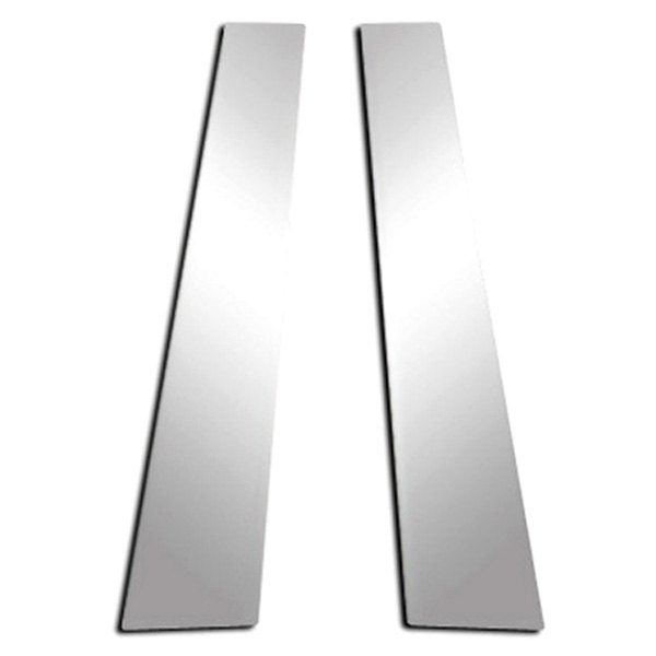 Image may not reflect your exact vehicle! RI® - Polished Stainless Steel Pillar Posts