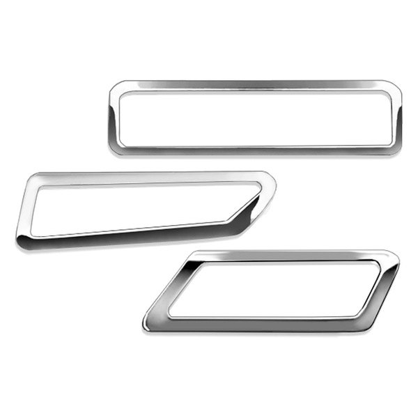 RI® - Chrome Bumper Side Marker Light Bezels