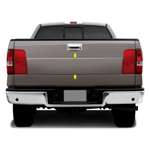 Image may not reflect your exact vehicle! RI® - Fiberglass Mark LT Look Tailgate Panel
