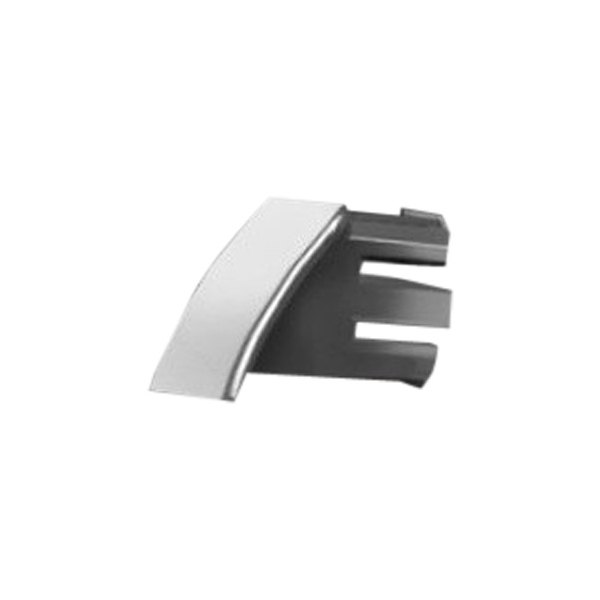 RI® - Universal Chrome End Cap - Rectangular Style, 55 Degree Round