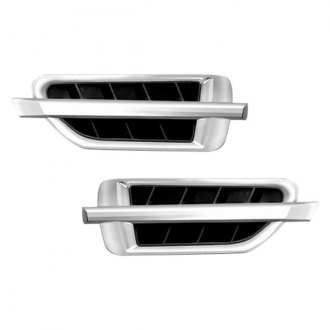 RI® - X-Caddi Sport Style Chrome Side Vents
