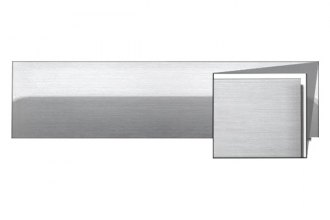 RI® - Brushed Stainless Steel Body Side Moldings