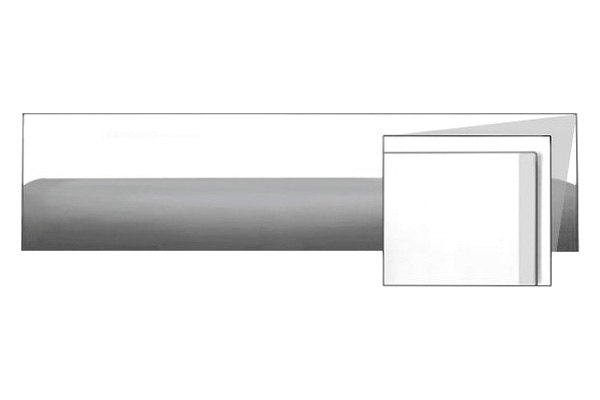 RI® - Universal Stainless Steel Body Side Molding - Mirror Finish