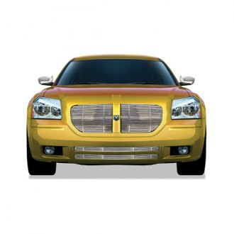 RI® - 1-Pc Chrome Billet Main and Bumper Grille Insert