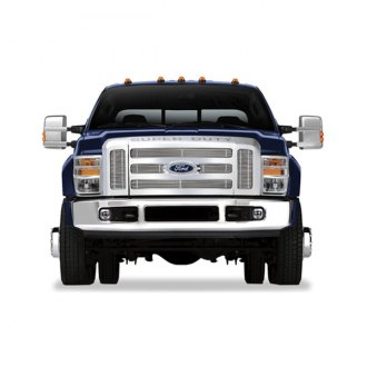 RI® - 6-Pc Chrome Billet Main Grille Insert