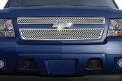 RI® - Chrome Punch Oval Grille