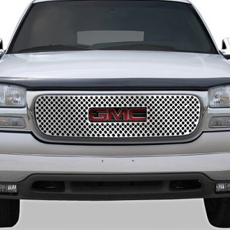 RI® - 1-Pc Chrome Punch-Round Main Grille