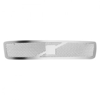 RI® - 1-Pc Chrome Perimeter Weave Mesh Main Grille Insert