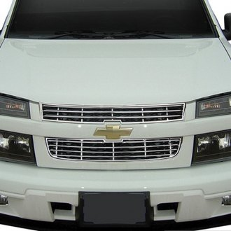 RI® - 2-Pc Chrome Grille Overlay