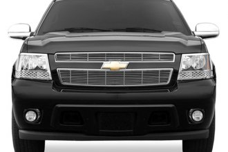 RI® - Bar Style Chrome Billet Grille Overlay