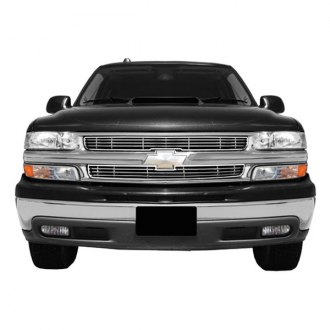 RI® - 2-Pc Chrome Billet Grille Overlay